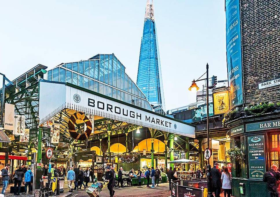 Borough Market London - Matmarked
